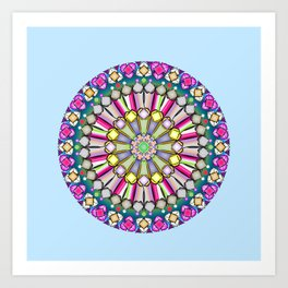 Geometric GG Art Print