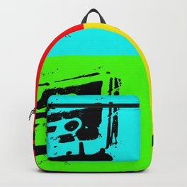 Cassettes Square Backpack