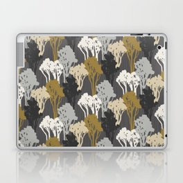 Arboreal Silhouettes - Golds & Silvers Laptop & iPad Skin