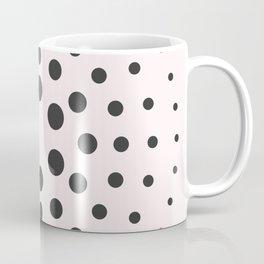 Mid-Century Modern Art - Bubblegum Spiral Dots Coffee Mug