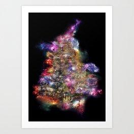 Metadise Tree Art Print