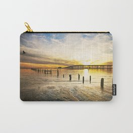 Gulf Coast Sunset Moods Carry-All Pouch