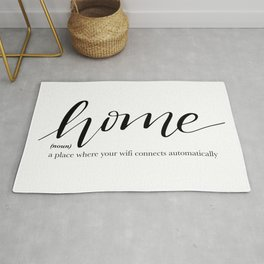 Home Quote Definition Rug