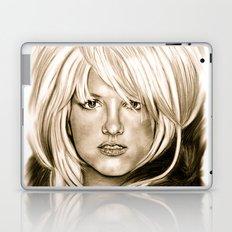 Brit in Antic Shade Laptop & iPad Skin