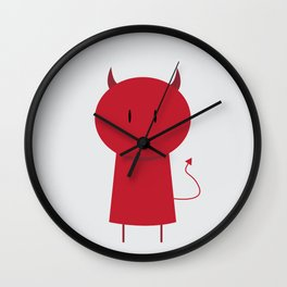 My Little Devil Wall Clock