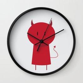 My Little Devil Wall Clock