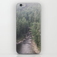 tennessee iPhone & iPod Skins featuring Tennessee Creek by Holley Maher