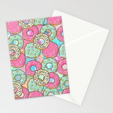 Sweet Donuts Cookies Stationery Cards