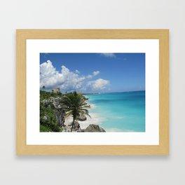 view to Heven Framed Art Print