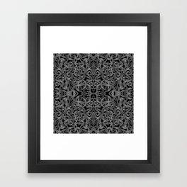 Floral Wrought Iron G19 Framed Art Print