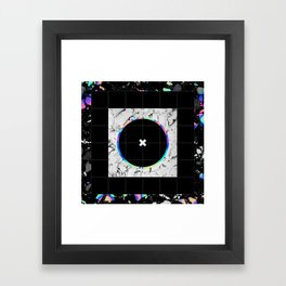 NO GOOD Framed Art Print