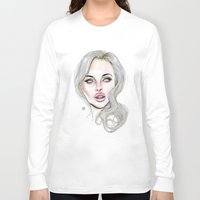 lucas david Long Sleeve T-shirts featuring Lindsay By Lucas David 2015 by Lucas David