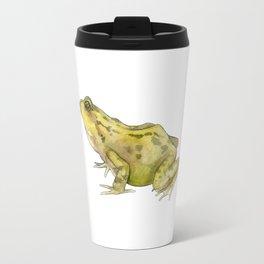 Green Common Frog Travel Mug