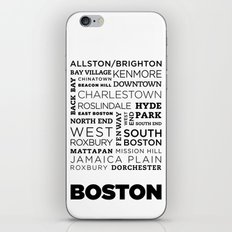 City of Neighborhoods - II iPhone & iPod Skin