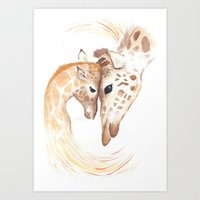 A Mothers Love Art Print