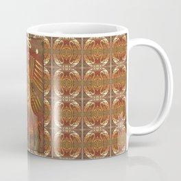Mexicano Chrome Tribal Art Coffee Mug