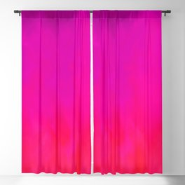 Fuchsia Fire Magenta Violet Ombre Blackout Curtain
