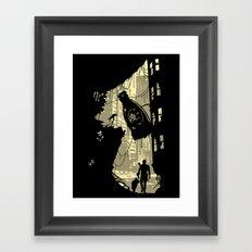 Life after vault 111 Framed Art Print
