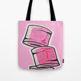 Pink Loo Too Tote Bag