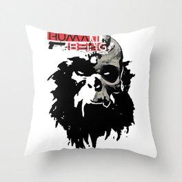 Human Being Throw Pillow