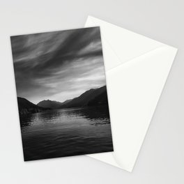 The eye at Lake Crescent Stationery Cards
