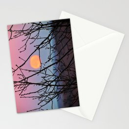 Black Friday Full Moon (1) Stationery Cards