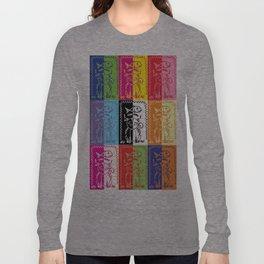 Cat (pop art) Long Sleeve T-shirt