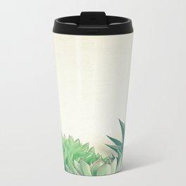 Succulent Forest Metal Travel Mug