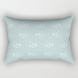 Floral Pattern #1 #decor #art #society6 Rectangular Pillow