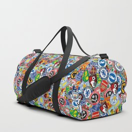 Premier League stickerbombing Duffle Bag