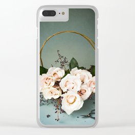 Winter Bouquet Clear iPhone Case