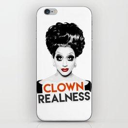 """Clown Realness"" Bianca Del Rio, RuPaul's Drag Race Queen iPhone Skin"