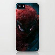 Spider-Man painting iPhone (5, 5s) Slim Case