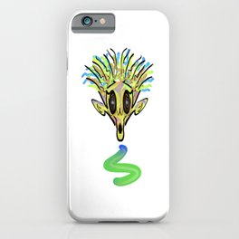 Green Ghoul iPhone Case