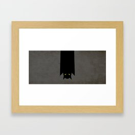 Halloween Bat Framed Art Print