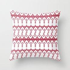 Criss Cross Jul Throw Pillow