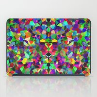 kaleidoscope iPad Cases featuring Kaleidoscope  by Glanoramay