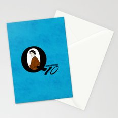 Q: Age Is No Guarantee of Efficiency Stationery Cards