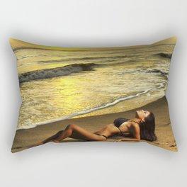 Sexy sunset Rectangular Pillow