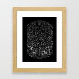 Infinite Inevitable Framed Art Print