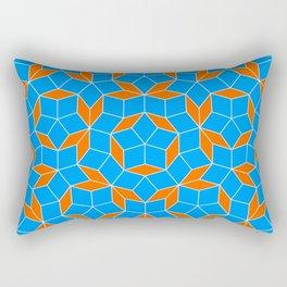 Penrose Tiling Pattern Rectangular Pillow