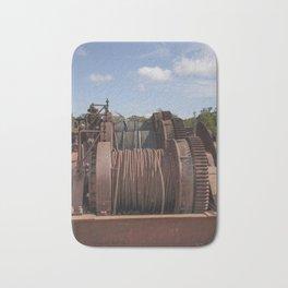 Steel Cables Bath Mat