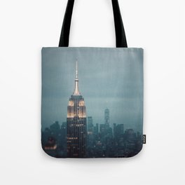 The City That Never Sleeps #1 Tote Bag