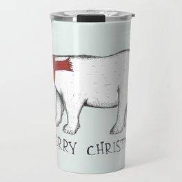 Christmas Polar Bear Travel Mug