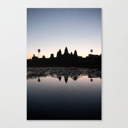 Sunrise at Angkor Wat Canvas Print