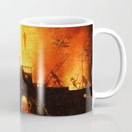 The flaming infurno Coffee Mug
