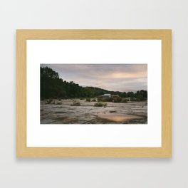 Pennsylvania // Reflections Framed Art Print