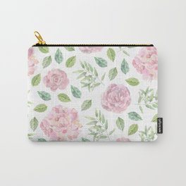 floral pattern ( roses ) Carry-All Pouch