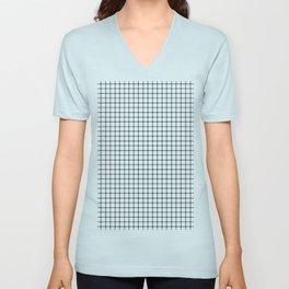 Dotted Grid Unisex V-Neck