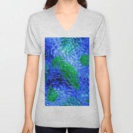 in the blue fern Unisex V-Neck
